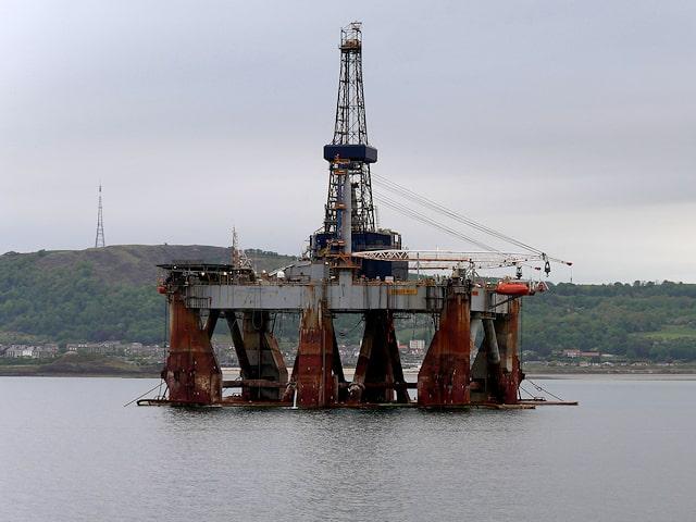 افت دکل نفت گاز آمریکای شمالی
